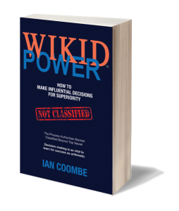 WIKID POWER by Ian Coombe - book cover